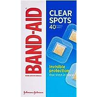 Band-Aid Clear Spots 40s, 0.0089 kilograms