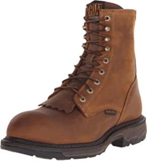f501c8676ef Amazon.com | Ariat Men's Workhog 8 Inch H2O Composite Toe Boot ...