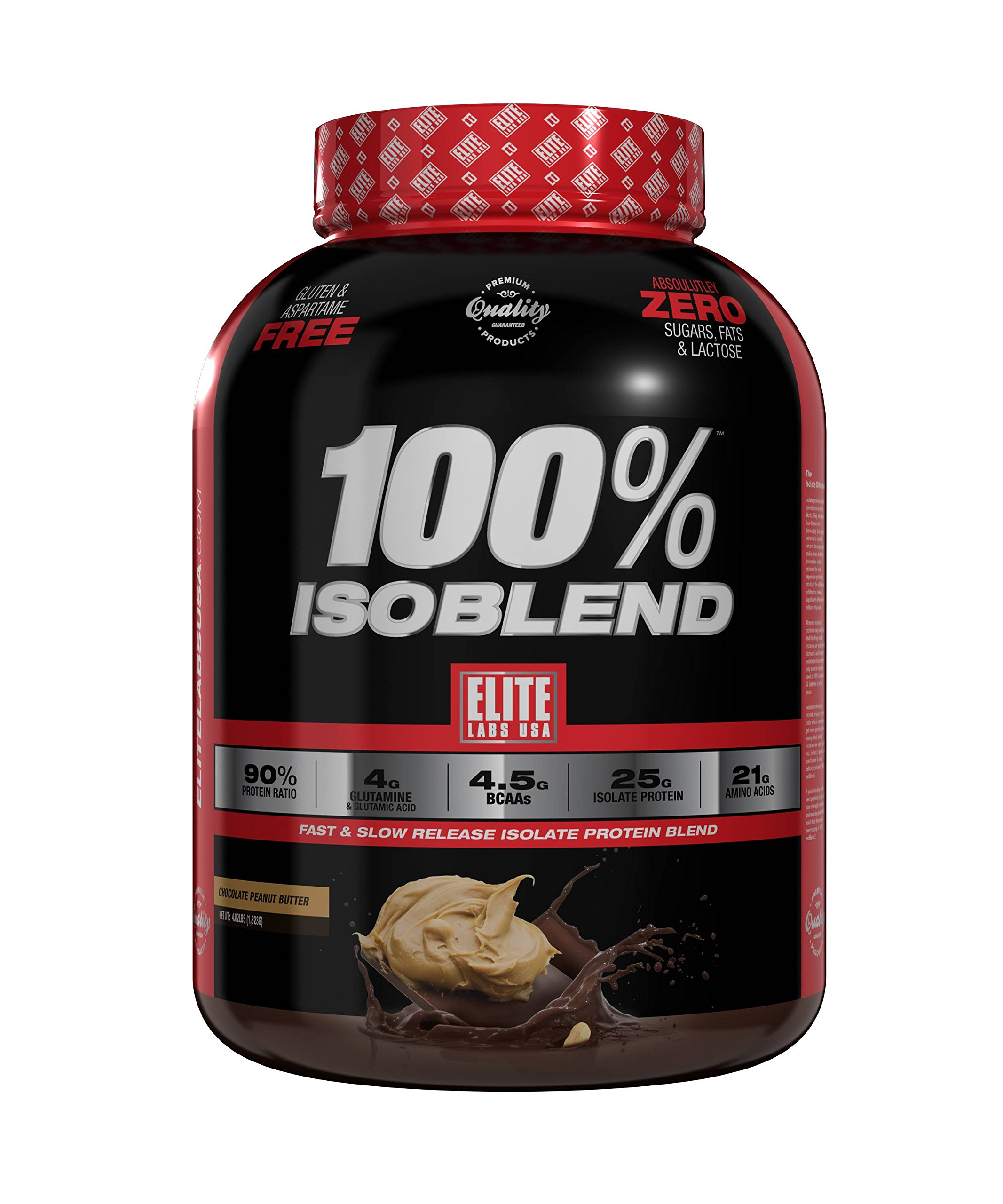 Elite Labs USA 100% ISOBLEND 4.02 LBS CHOCOLATE PEANUT BUTTER