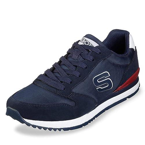 fb8e7bf189b76 Zapatilla Skechers 52384 Negro Hombre  Skechers  Amazon.es  Zapatos y  complementos