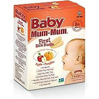 Baby Mum-Mum Apple and Pumpkin Flavour First Rice Rusks, 36 g