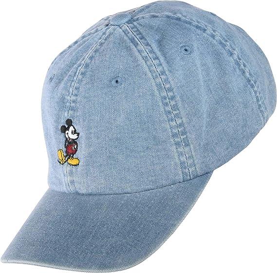 9e0286a7 Levi's Men's Mickey Hat Baseball Cap, (Jeans Blue 10), One (Size: UN ...
