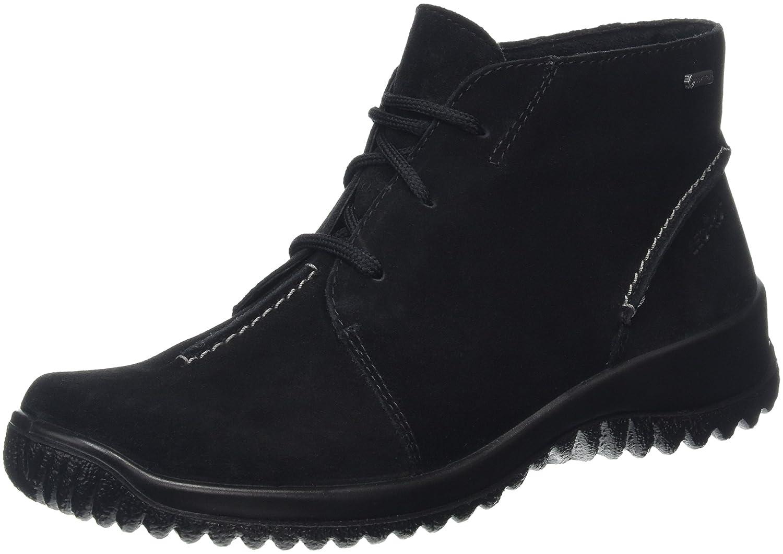 Legero Softboot Halb, Zapatos de Cordones Derby para Mujer 43 EU|Negro - Schwarz (Schwarz 00)