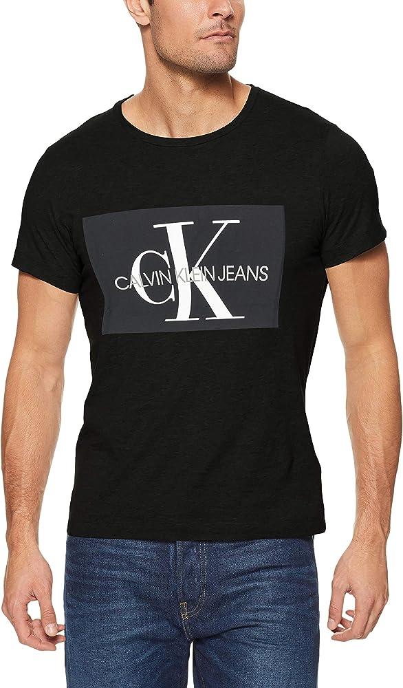 Calvin Klein J30J307842 Camisa, 099, XS para Hombre: Amazon.es: Ropa y accesorios