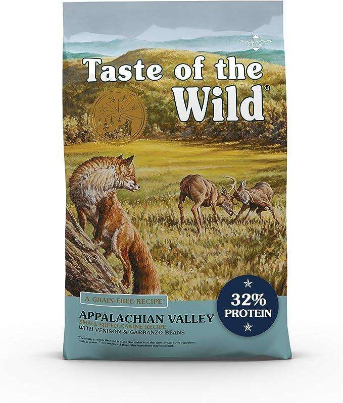 Taste of the Wild Appalachian Valley Small Breed Recipe