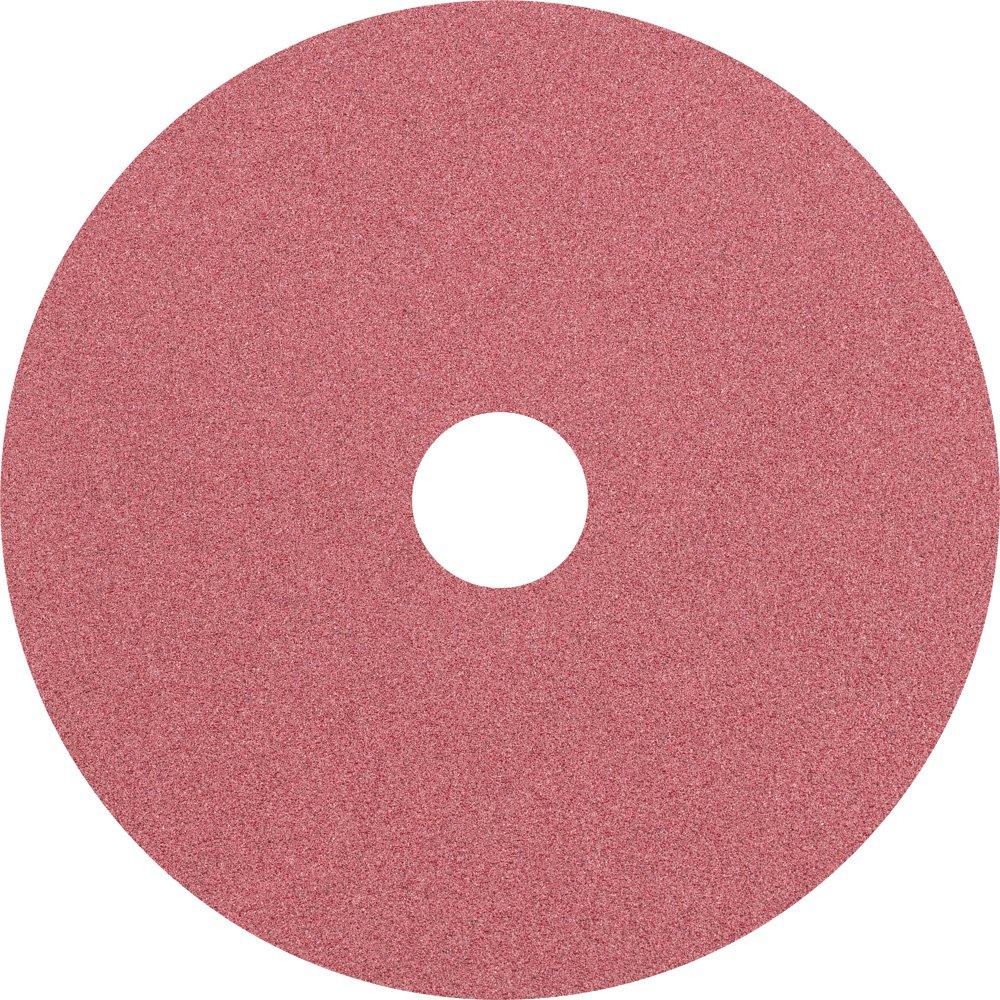 7//8 Arbor Hole 5 Diameter 5 Diameter 7//8 Arbor Hole PFERD Inc. PFERD 62515 Fibre Disc 12200 rpm Pack of 25 120 Grit Ceramic Oxide CO
