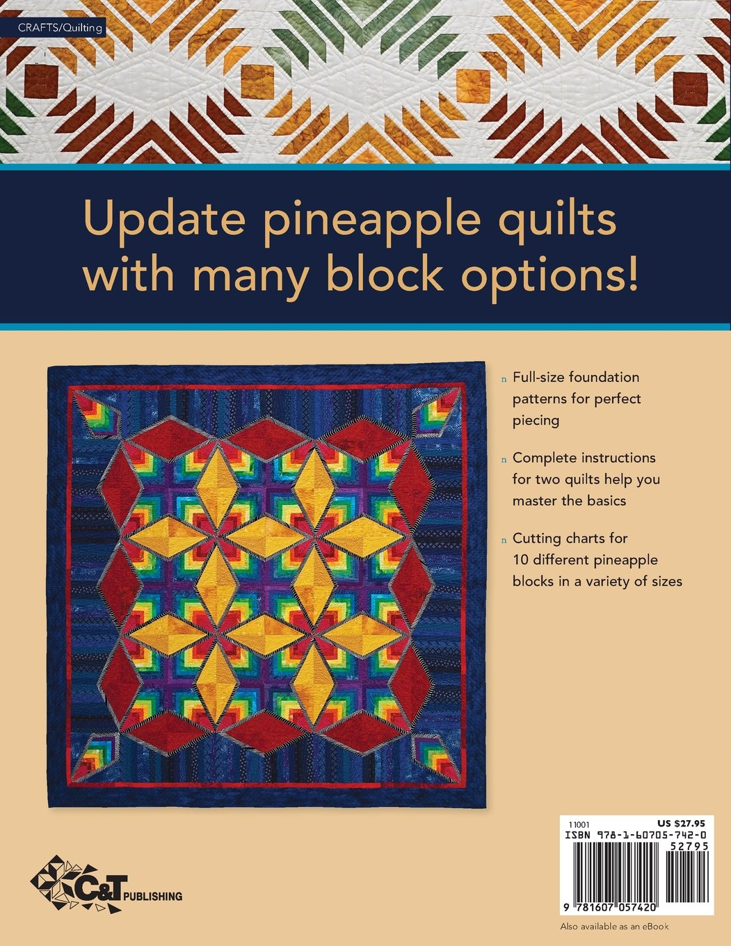 Fresh Pineapple Possibilities 11 Quilt Blocks Exciting