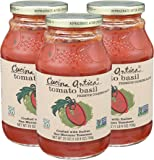 Cucina Antica Pasta Sauce, Tomato Basil, 25 Ounce (Pack Of 3)