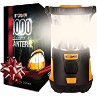 Internova 1000 LED Camping Lantern - Massive Brightness with Fully Adjustable 360 Arc Lighting - Emergency - Backpacking…