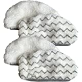 4PK Bissell Mop Pads Fit 1252 Symphony Hard Floor Vacuum & Steam Mop, Designed & Engineered by Crucial Vacuum