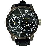 Henley - H06065.3 - Montre Homme - Quartz - Analogique - Bracelet Silicone Noir