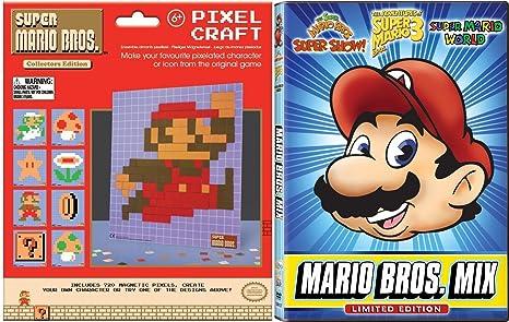 Amazon Com Super Mario Brothers Mega Mario Mix Dvd Super Mario