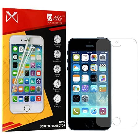 iKare Front Back Fiber Glass Screen Protector for Apple iPhone 5 5S 5SE Mobile Accessories