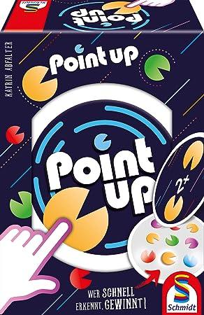 Schmidt Spiele- Point Up, Juego de Cartas, Color carbón (49374): Amazon.es: Juguetes y juegos