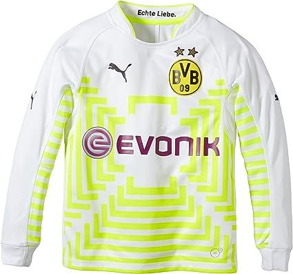 PUMA - Camiseta de Portero del Borussia Dortmund para niño: Amazon.es: Ropa y accesorios