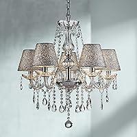 Saint Mossi Chrome Lámpara LED de cristal K9, Lámpara de techo colgante para Comedor,…