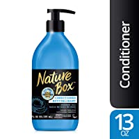 Nature Box Conditioner - for Instant Hydration, with 100% Cold Pressed Coconut Oil...