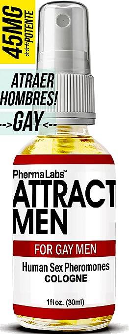Gay Feromonas Colonia para Hombre- 1 oz - Atraer Hombres instantáneamente- Mayor Concentración De