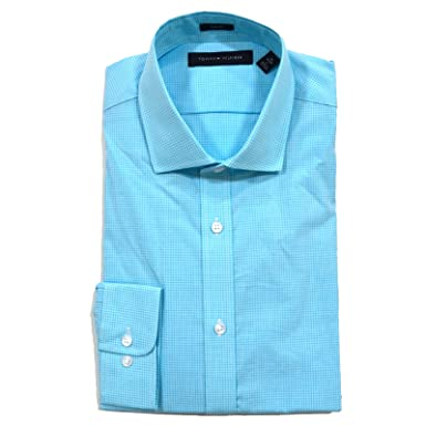 65324300 Tommy Hilfiger Mens Slim Fit Dress Shirt in Bermuda at Amazon Men's  Clothing store:
