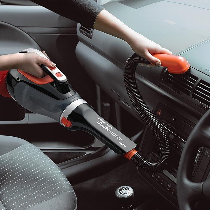 12 V BLACK+DECKER ADV1220-XJ Dustbuster Aspiratore Auto Ciclonico con Borsa e Accessori