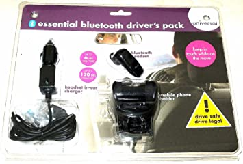 Kondor Essential Bluetooth Hands Free Drivers Pack: Amazon