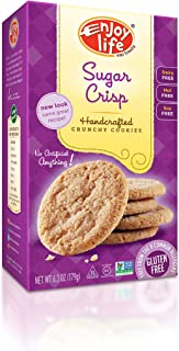 product image for Enjoy Life Crunchy Handcrafted Cookies Gluten Free Sugar Crisp -- 6.3 oz