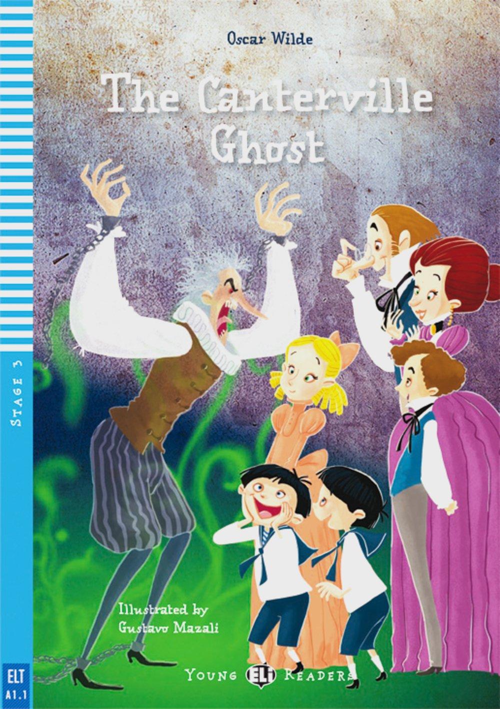 The Canterville Ghost: Englische Lektüre für das 2. Lernjahr. A2. Buch + Audio-CD (Young ELI Readers)