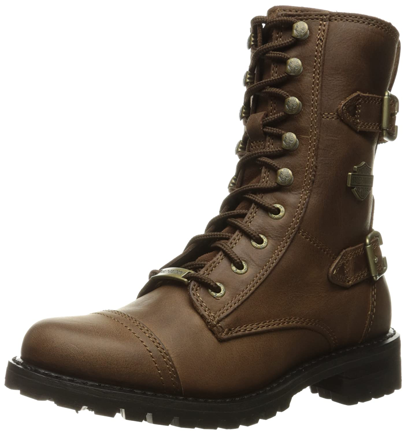 Harley-Davidson Women's Balsa Work Boot B005BFRWWS 5 B(M) US|Brown