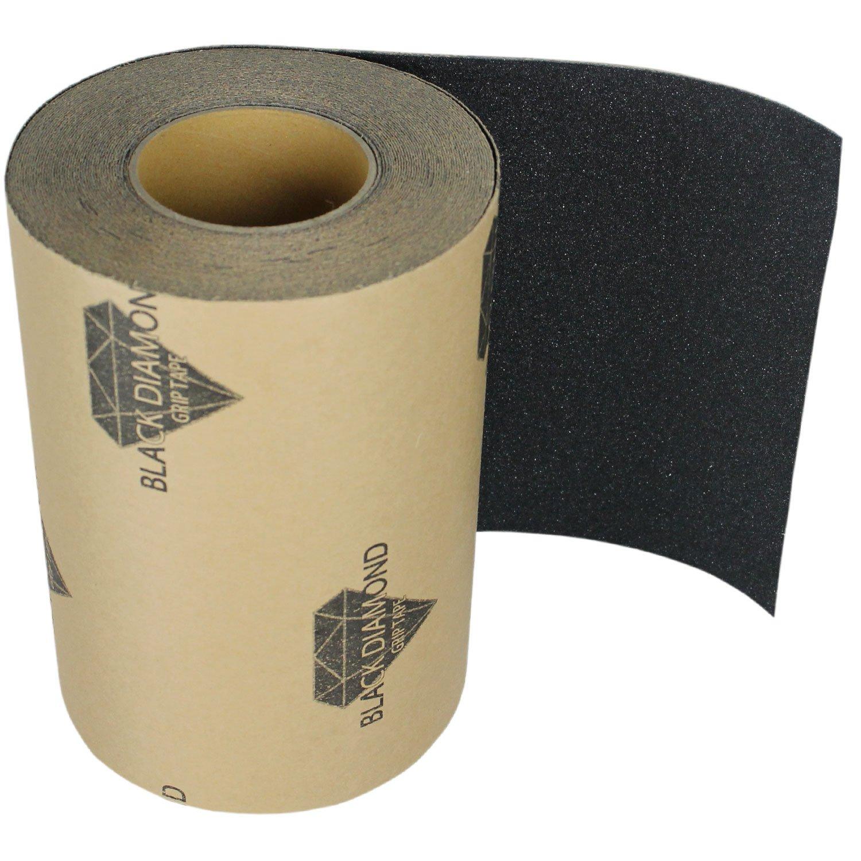 Black Diamond Grip Skateboard Longboard Griptape Roll