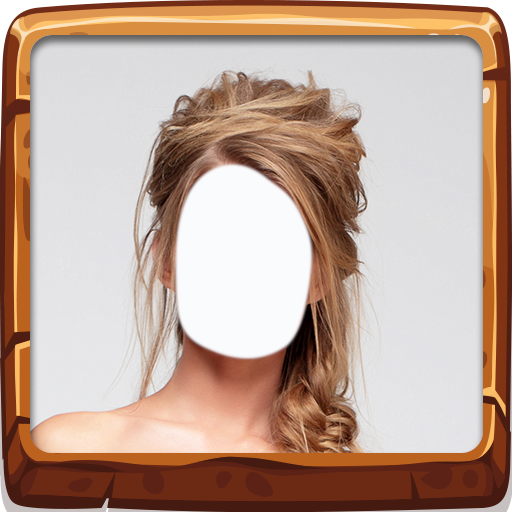 (Woman Hair Style Photo Montage)