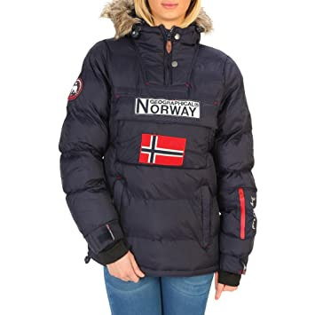 Geographical Norway Anson woman Chaquetas Mujer Azul 4  Amazon.es ... 1b1672bce275