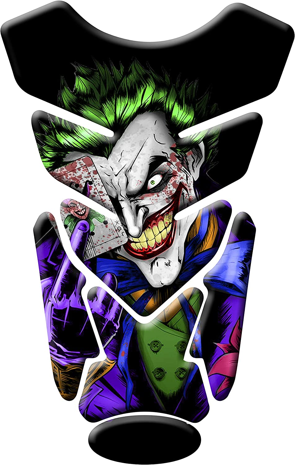 MOTORCYCLE TANK PROTECTOR PAD JOKER UNIVERSAL WITH KEYCHAIN