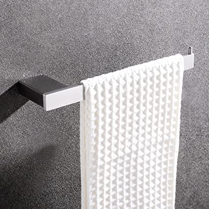 hpbge baño toalla Rack, soporte de pared de acero inoxidable accesorios de baño barras de