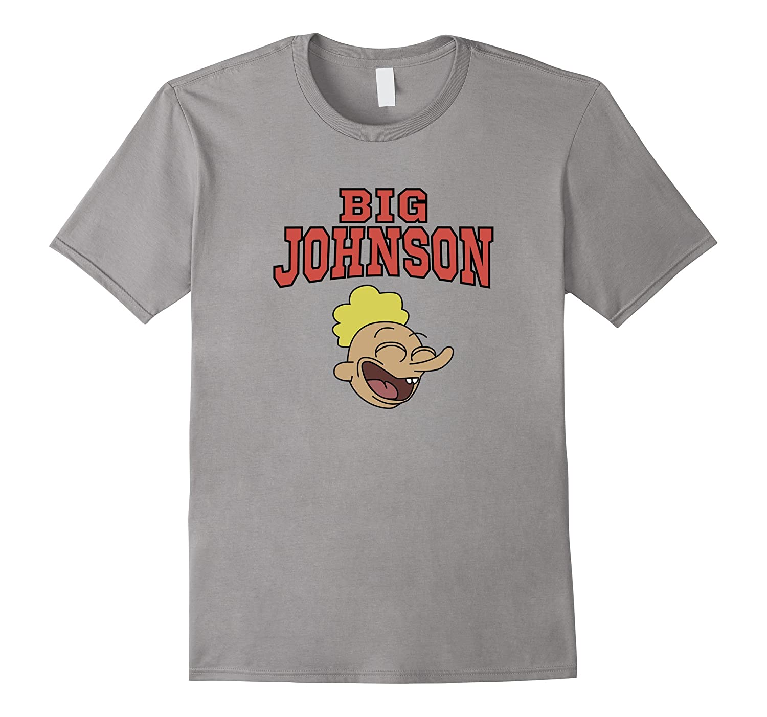 Big John Johnson Fun Tee Shirt-Art