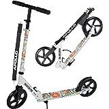 Apollo Monopattino XXL Wheel 200 mm - Phantom PRO fenicottera è Un City Scooter di Lusso, City-Roller Pieghevole e con Altezza Regolabile, Monopattino, Kickscooter per Adulti e Bambini