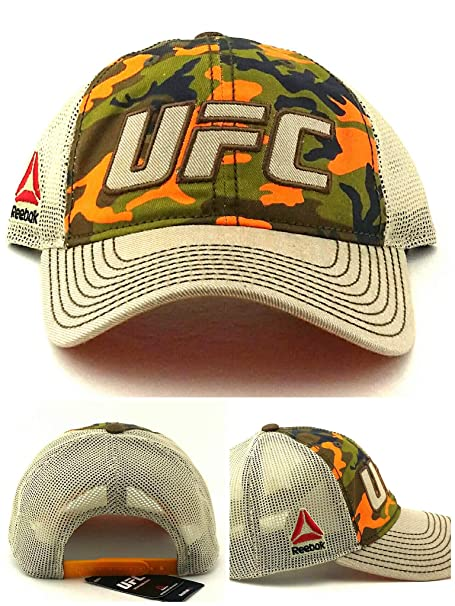 Reebok UFC RBK MMA - Gorra Ajustable de Malla con diseño de ...
