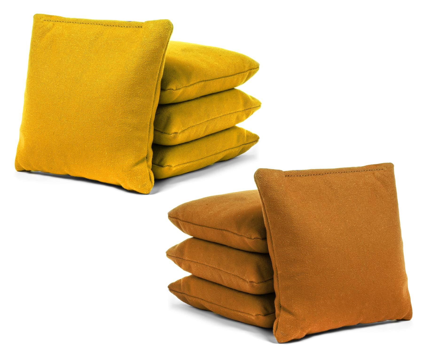 Tailgating Pros Cornhole Bags - 8 Regulation Size Corn Hole Bags - 23+ Colors Options by Tailgating Pros
