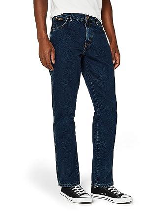wrangler herren jeans texas contrast amazon de bekleidung  Billig Wrangler Blau Jeans Herren Online P 1444 #3