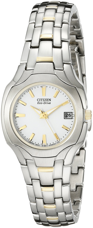 Citizen Women's EW1254-53A Eco-Drive Two-Tone Watch