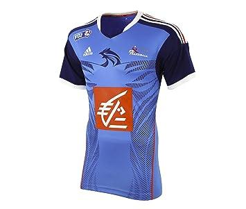 adidas - Maillot France Hand Ball HB FK Kids Tee Bleu G68524