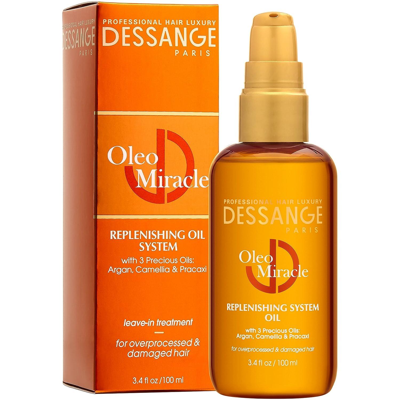 Dessange Oleo Miracle Replenishing System Oil, 3.4 Fluid Ounce