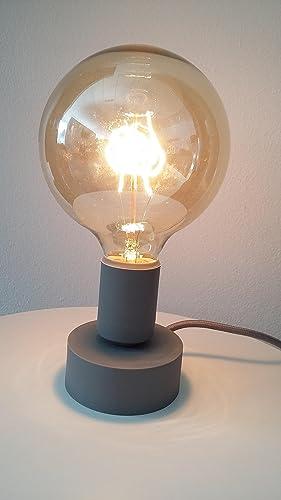Tavolotto Lampada da tavolo moderna - Portalampada E27 - Design ...