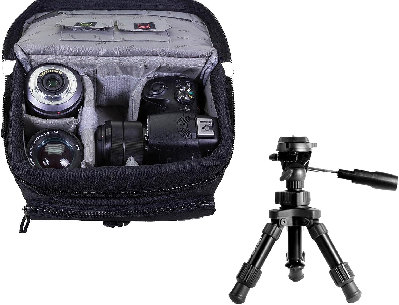 Kamera Foto Universal Tasche Black M Im Set Mit Makro Kamera