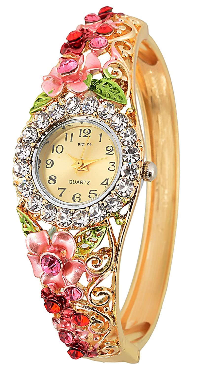 Horse Head Analogue Multi-Colour Round Dial Women's Watches_Hh21