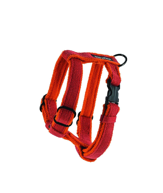 Planet Dog Cozy Hemp Adjustable Dog Harness, Blue, Small