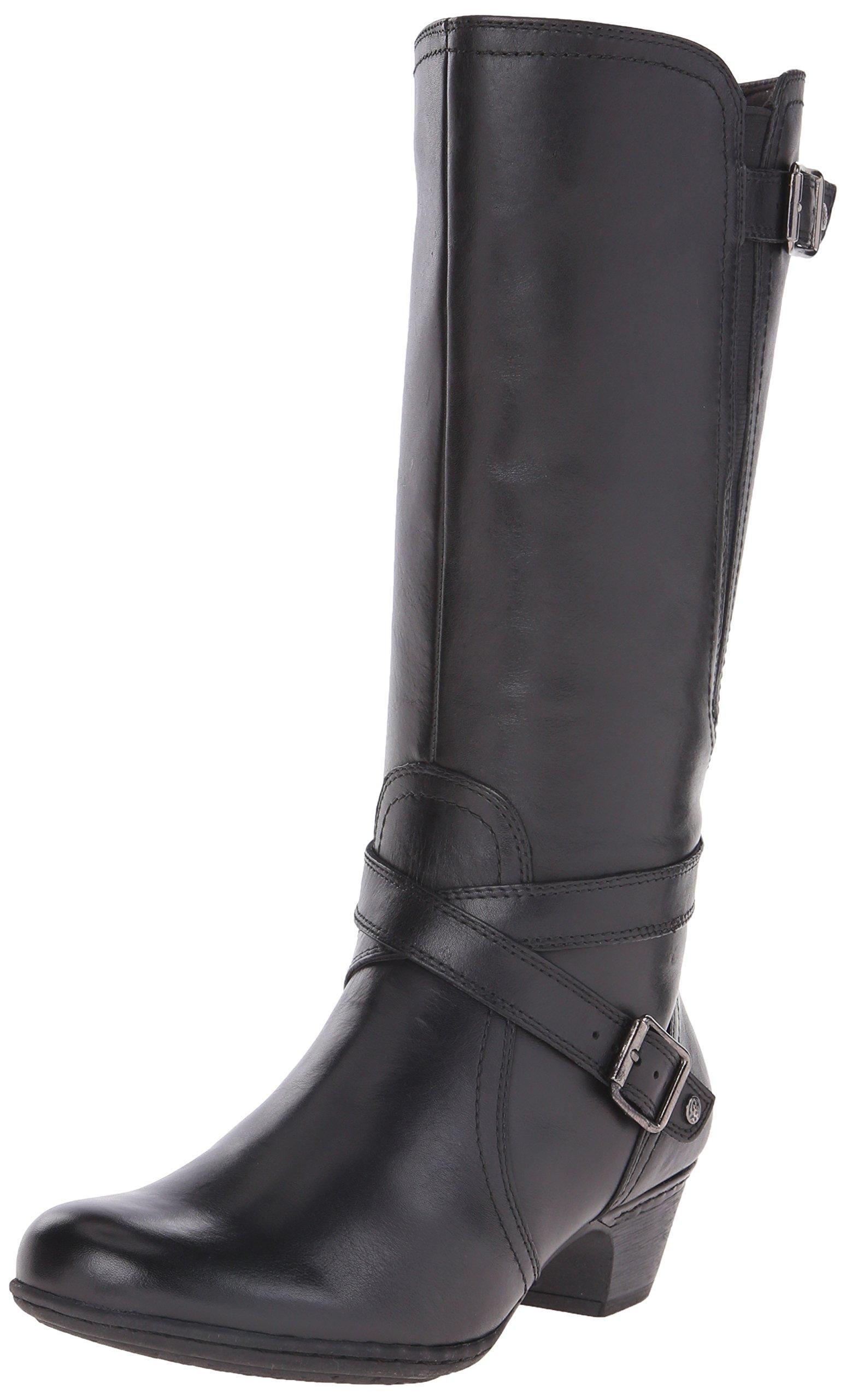 Cobb Hill Rockport Women's Ashlyn Boot, Black, 10 W US