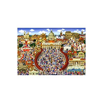 [ Puzzle Life ] Rome | 1000 Piece Jigsaw Puzzle for Adults, Teens and Family: Toys & Games