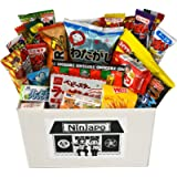 Assorted Japanese Junk Food Snacks 'Dagashi' 30pcs Ninjapo Package Sweets Candy