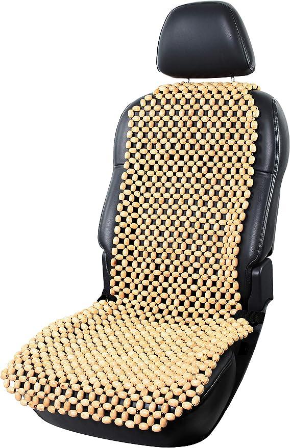 Beige//Schwarz favourall Autositzauflage Holzkugeln Universal Sommer Holzperlen Massage Sitzauflage Sitzbezug Sitzmatte Sitzaufleger Sitzbel/üftung F/ür Auto Office Home