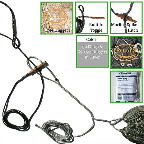 venngren whoopie sling hammock hanging system  set of 2  slings and   set of amazon    venngren whoopie sling hammock hanging system  set of      rh   amazon